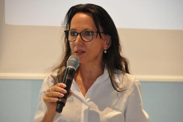 Dagmar Heib beim Videotag - einem Marketing Event in der Inselhalle Lindau für Heilpraktiker und ihre Werbung