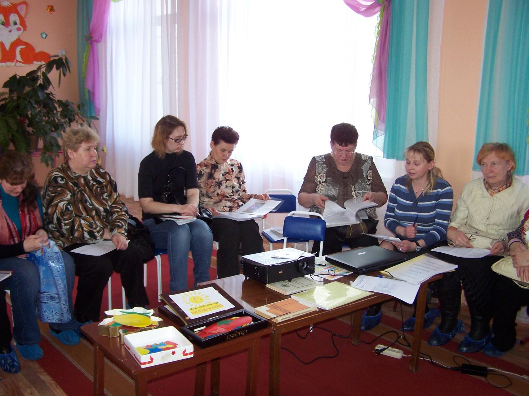 Выступление   воспитателя  МБДОУ №6 Курниковой С.П. обмен опытом работы по сенсорике