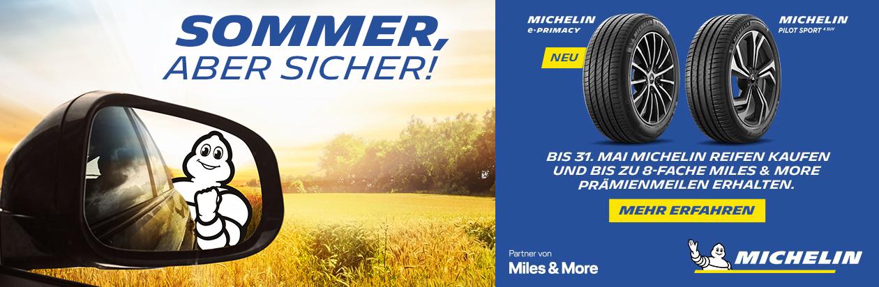 Mit Michelin Miles & More Prämien sichern