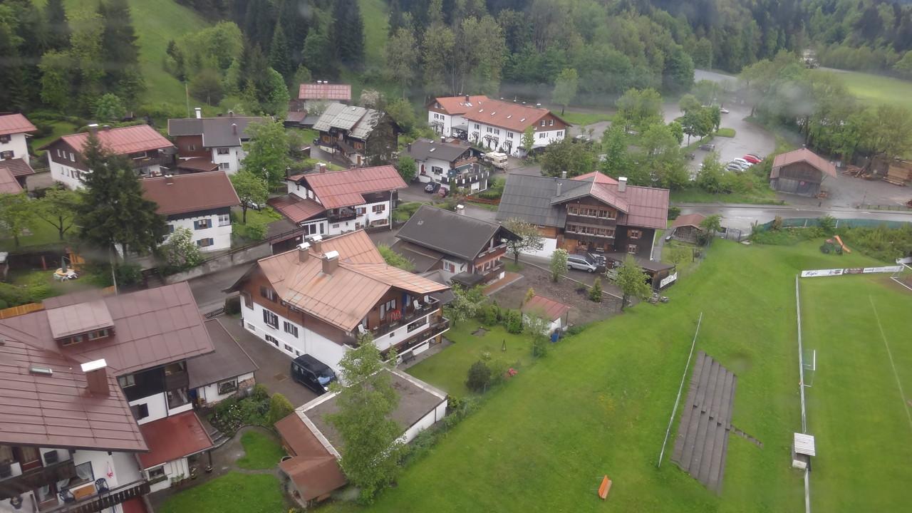 Fotos aus der Gondel von Oberstdorf
