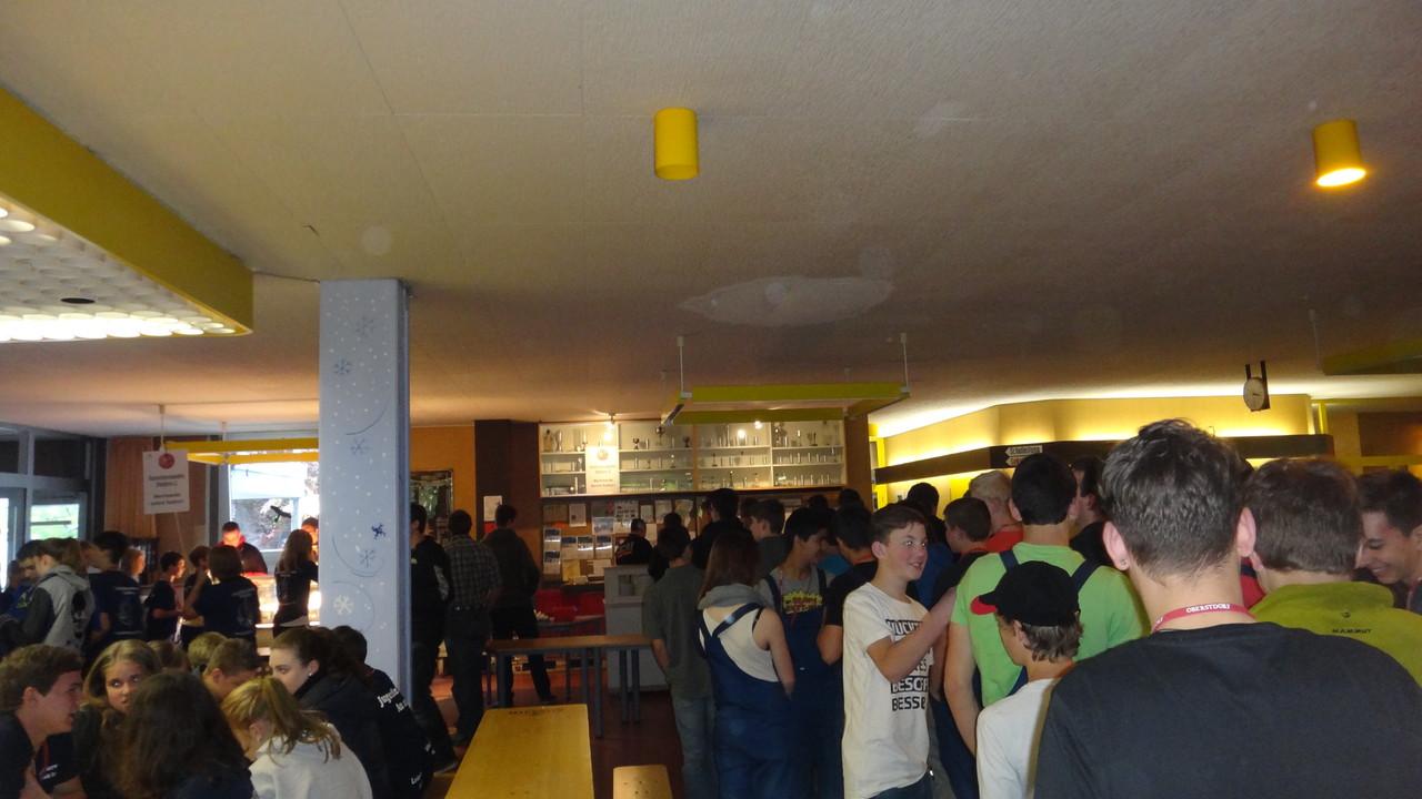 Verpflegung in der Mittelschule Oberstdorf