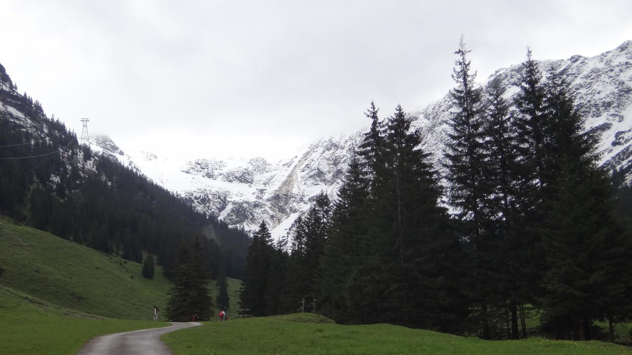 Blick auf die Gipfel