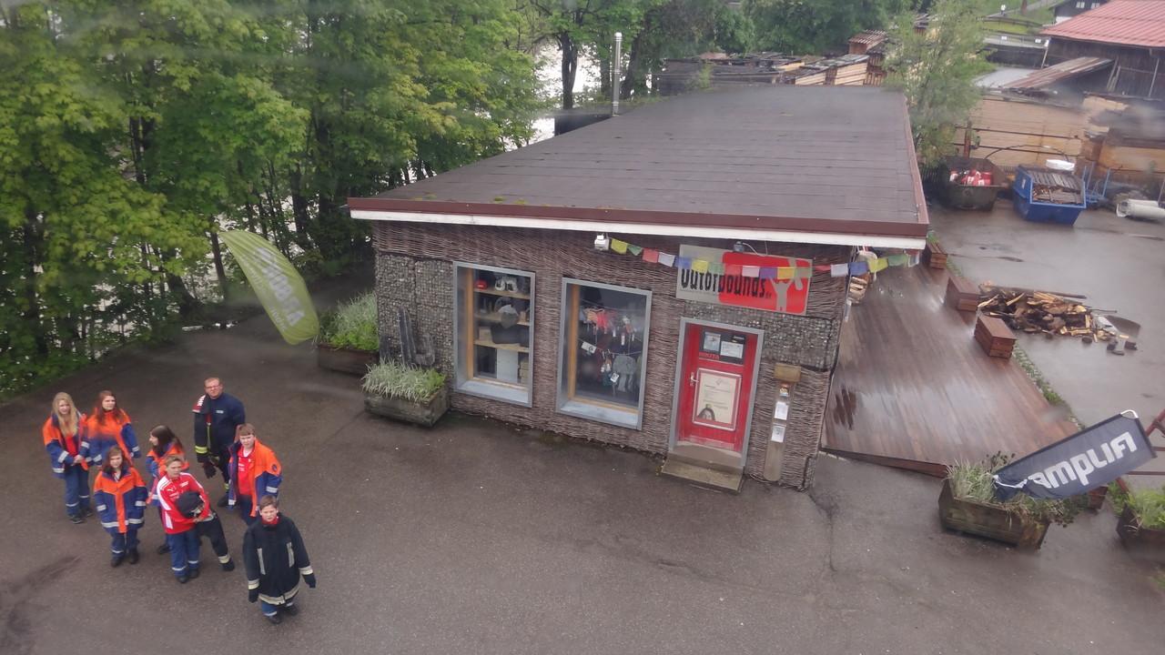 Auffahrt zum Nebelhorn