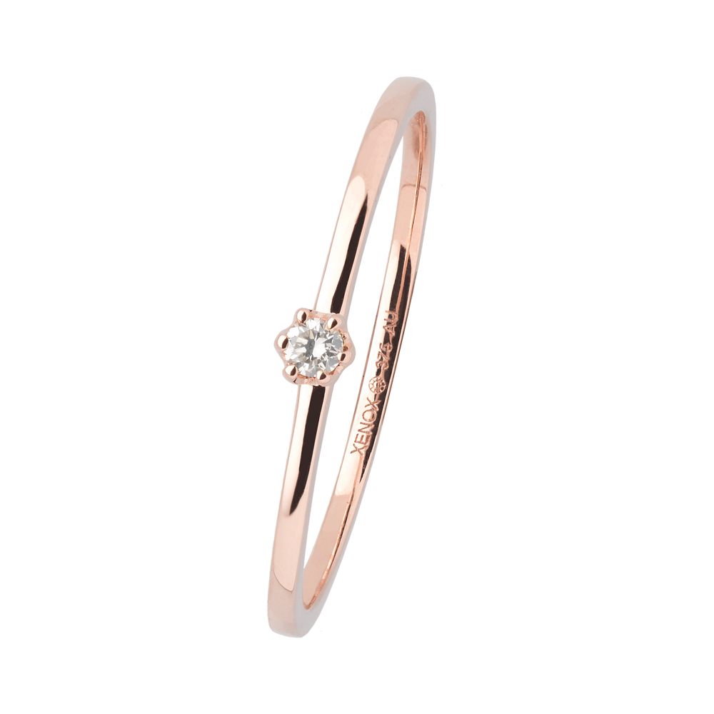 375 RoséGold, 0,03ct Brillant; Art. 7626, UVP: 149,00€