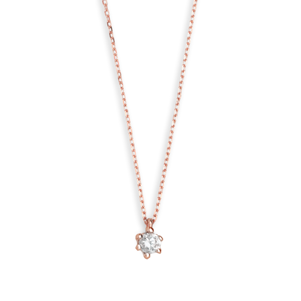 375 RoséGold, 0,07ct Brillant; Art. 7627, UVP: 239,00€