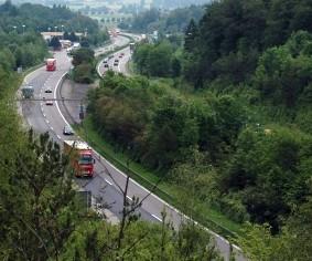 Die A81 - eine ökologische Barriere, die Baden-Württemberg in zwei Hälften trennt