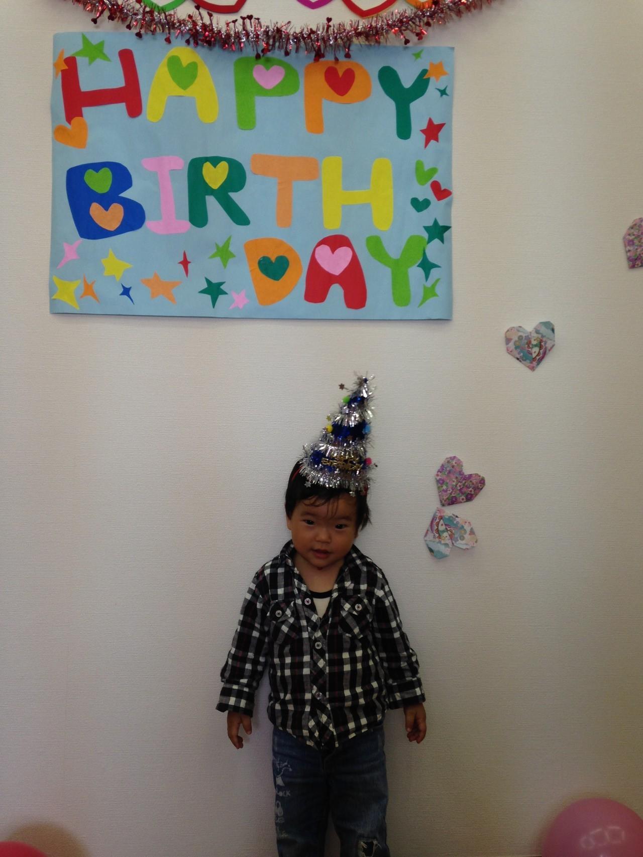 みんなでお誕生日お祝いしよ~♪