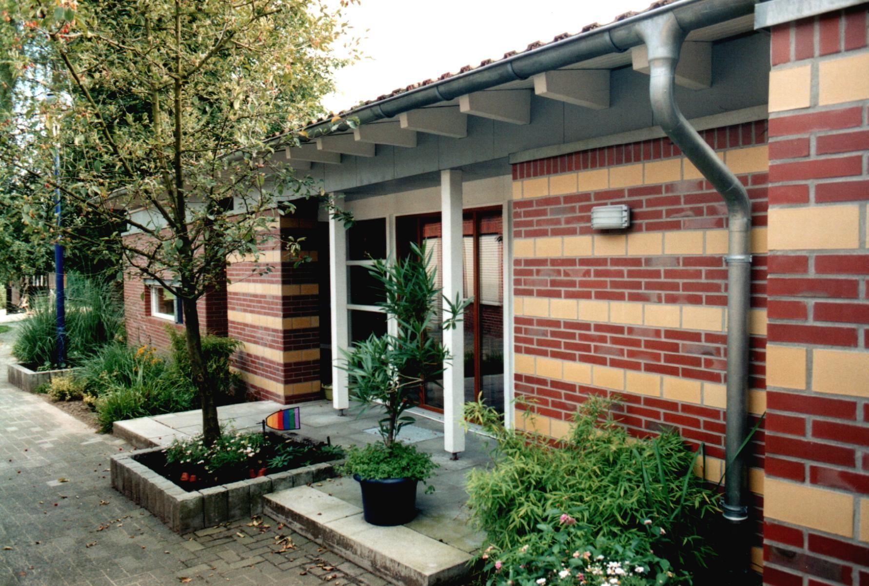 Umbau u. Erweiterung St. Marien-Kindergarten, Lüdinghausen - Außenansicht