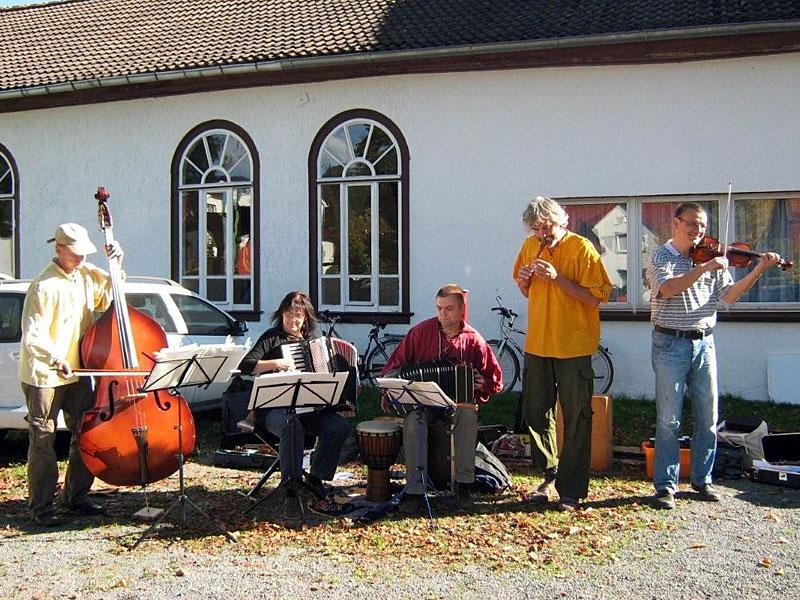 Musikalisches Rahmenprogramm