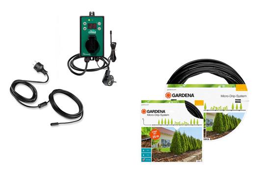 Gardena Bewässerung für Balkon und Garten, Microdrip, starterstes, Ersatzteile, Pflanzenheizungen für Überwinterung in Wuerzburg