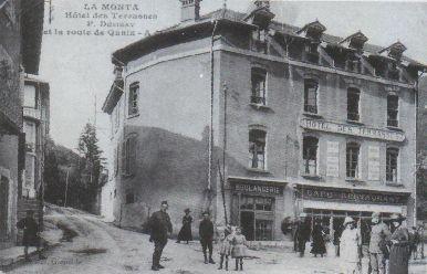 L'Hôtel des Terrasses, témoin du passage des charrois...