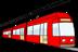 Abbildung einer Sraßenbahn zur besseren Orientierung für die Anfahrt zur Praxis.