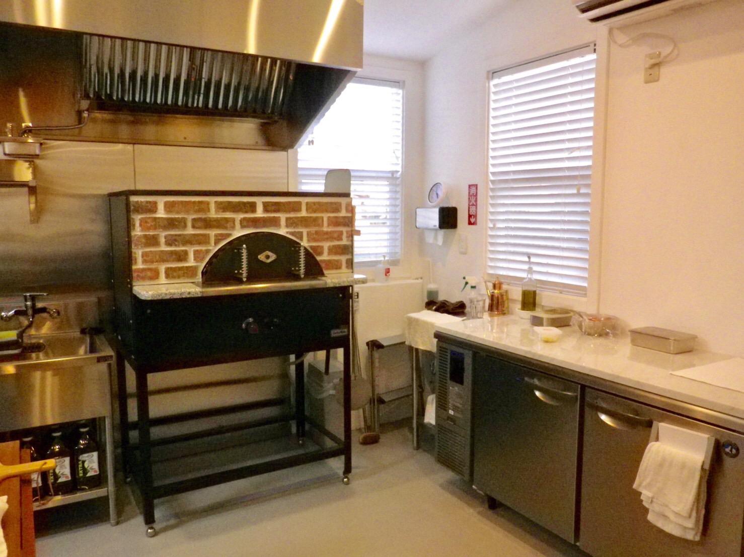 厨房設備も充実のトレーラーハウス