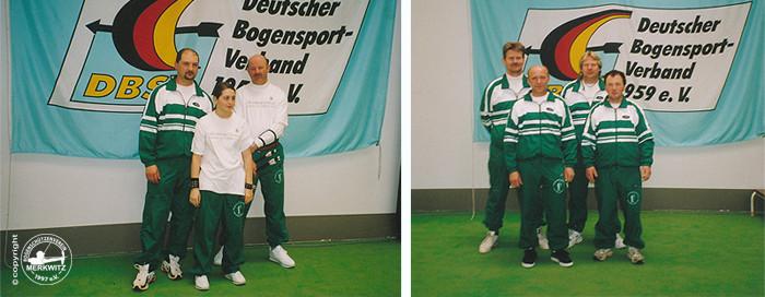 Merkwitzer Bogenschützen aus Sachsen-Anhalt bei der Gesamtdeutschen Meisterschaft FITA-Halle in Döbeln