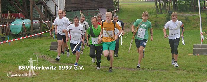 12. Deutsche Meisterschaft im Bogenlaufen 2011 in Merkwitz