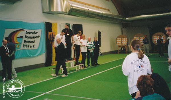 Gesamtdeutsche Meisterschaft 15./ 16.03.2003 in Döbeln