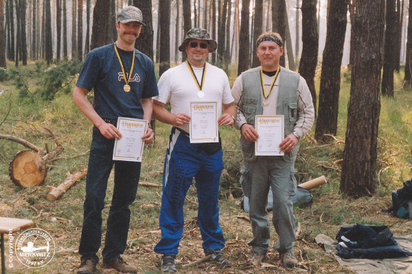 BSV Merkwitz 1997 e.V. bei der LM Feld/ Wald am 17. u. 18.04.2004 in Jersleben