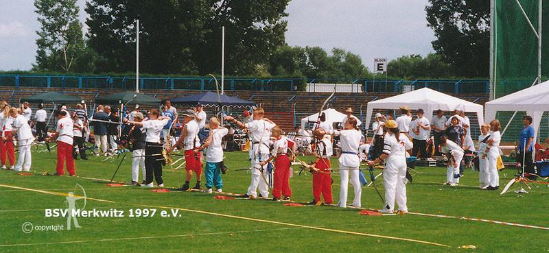Foto - Gesamtdeutscher Verbandspokal in Dessau 2001 - BSV Merkwitz 1997 e.V.