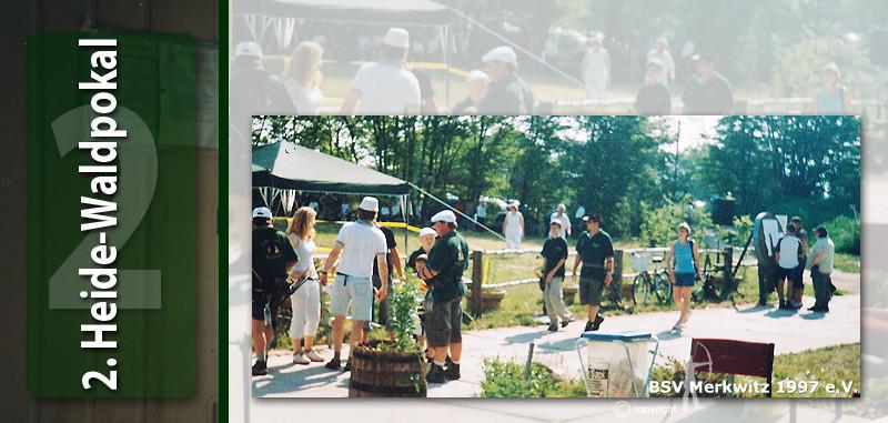 Fotocollage - 2. Merkwitzer Heide-Waldpokal 2005
