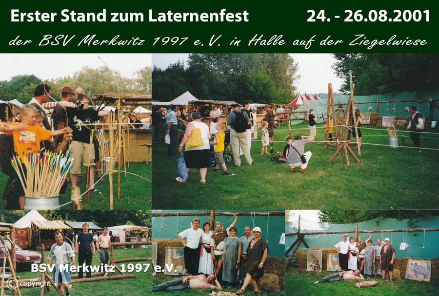 Foto - Laternenfest in Halle - BSV Merkwitz 1997 e.V.