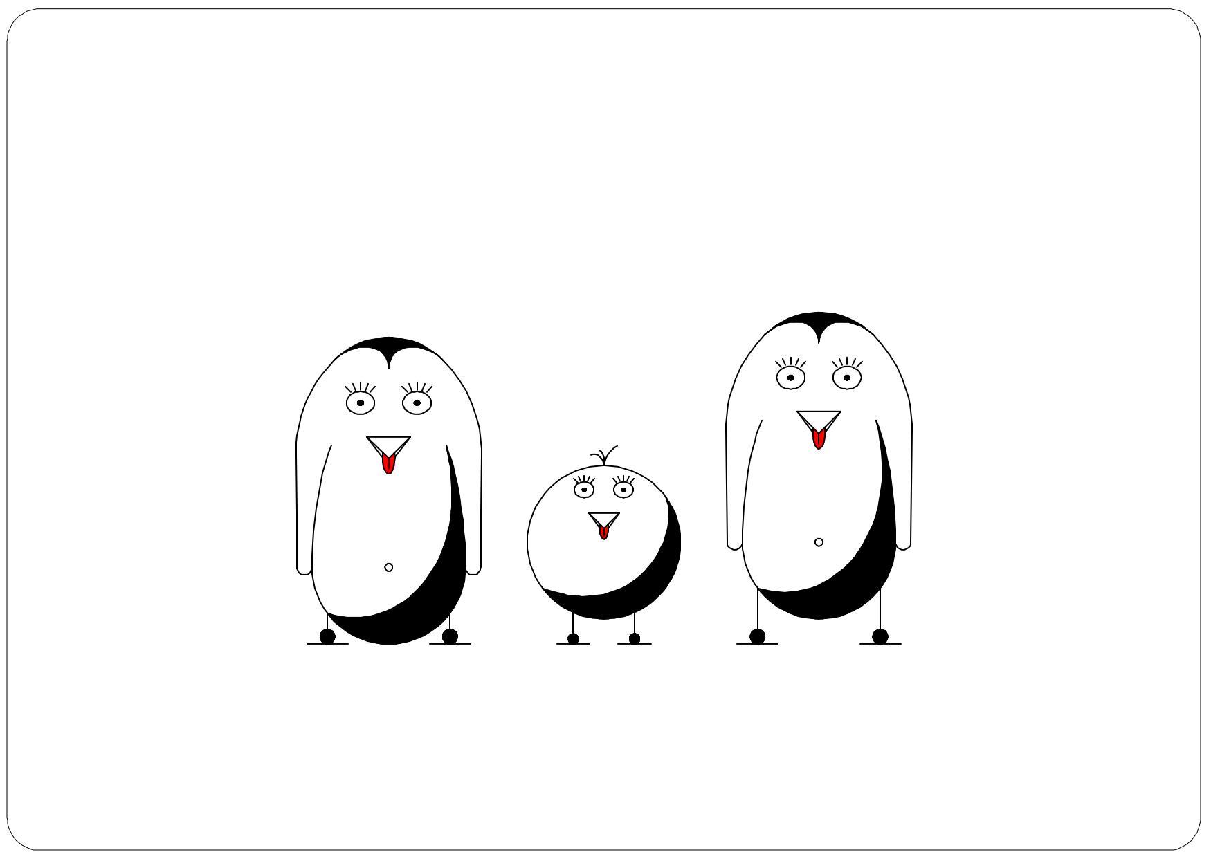 - Pinguine -