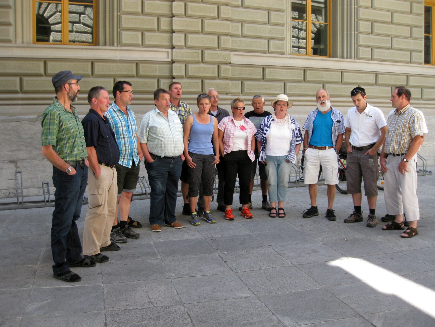 Auch Bern bekommt die Ostschweizer Jodler zu hören