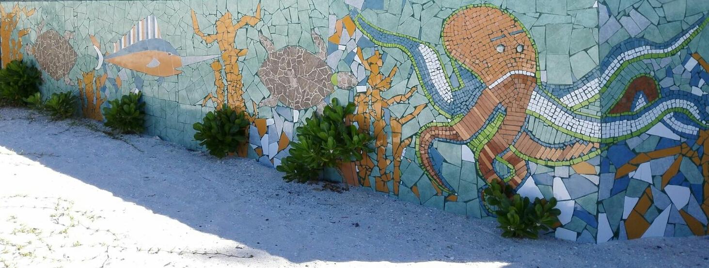Casa Turquesa Mural