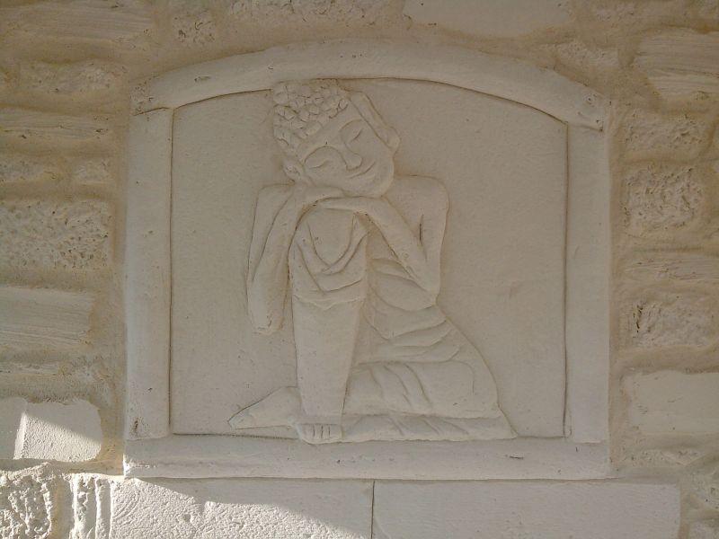 Tableau décoratif de bouddha pour projet SPA