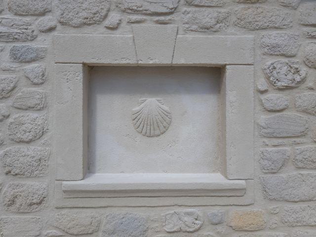 Enduit décoratif pierre. Valras plage
