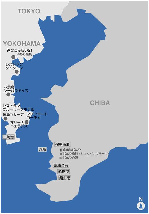 東京湾マップ