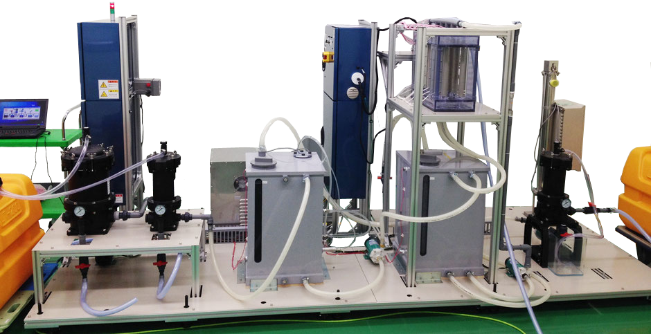ラジカルOHを利用して汚染物質の浄化する。プラズマ発生手法は独自特許を取得し、更なる研究開発、製品化を進めている。本装置は2014年ものづくり補助金の採用により汚染分解試験装置
