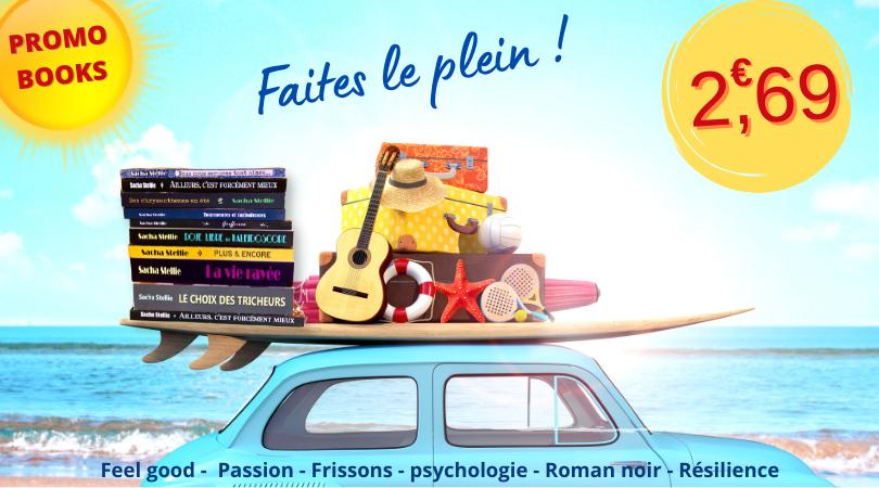 Sacha Stellie; promotion; ebooks;  roman psychologique; roman, book, lire, bordeaux; idee lecture; vacances; que lire cet ete