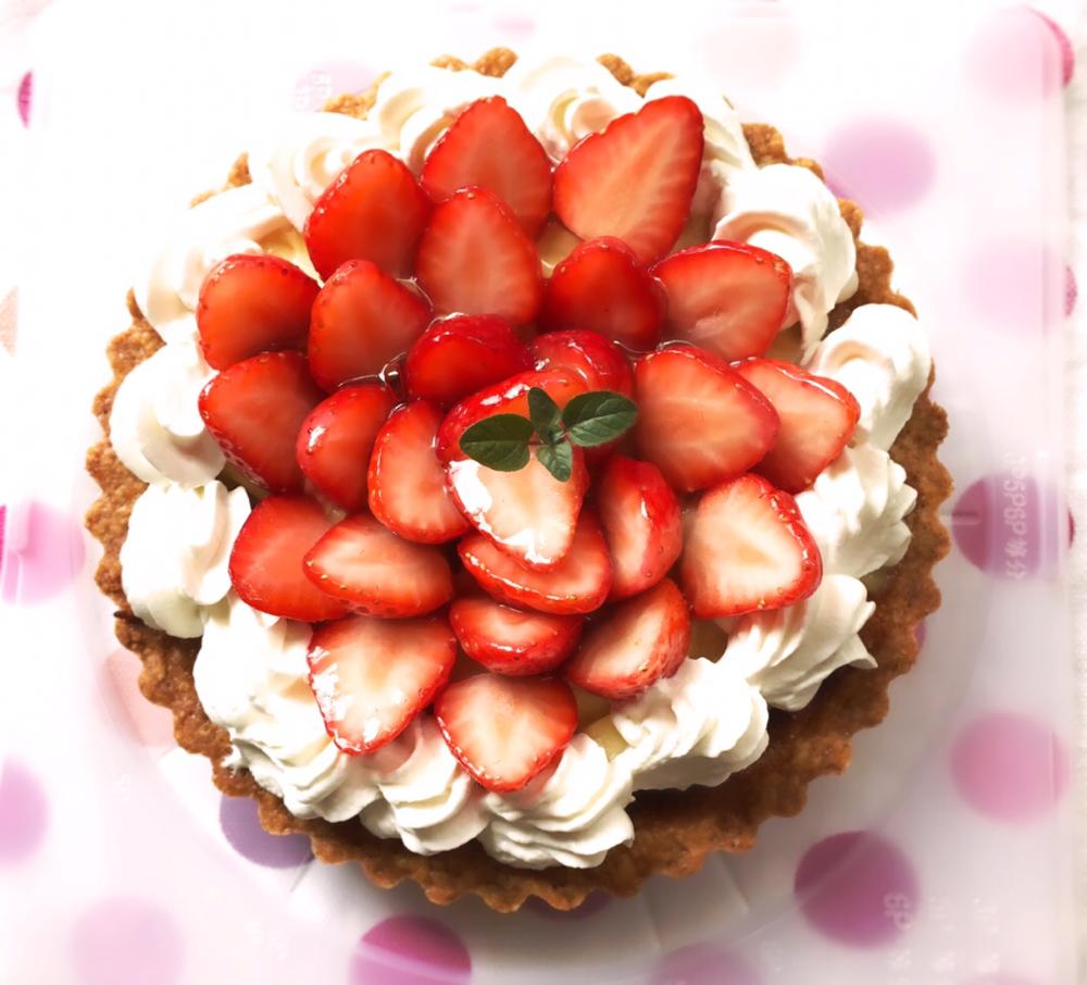 ミディアムコースのお菓子の作成事例