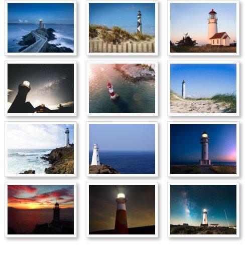 Beispeil Leuchtturmkalender