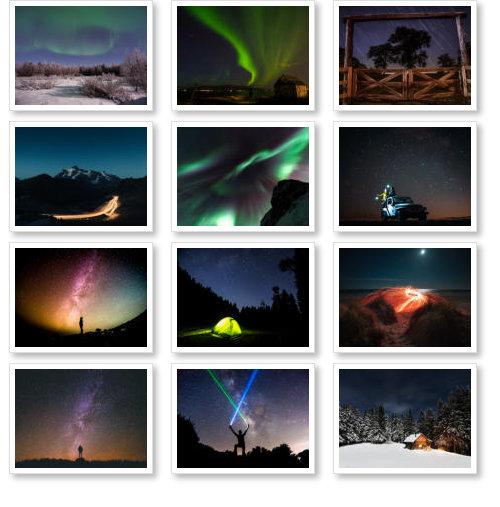 Beispiel: Nachthimmel