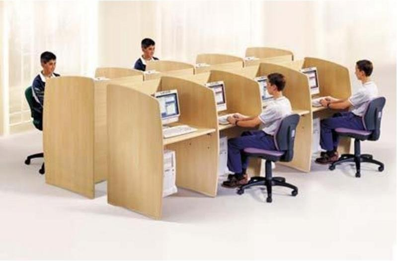 Muebles y escritorios para computadoras mueblescgc for Muebles para call center