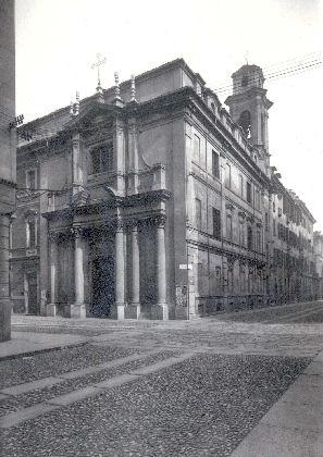 Facciata della Chiesa su via Piave, anni '30 del Novecento