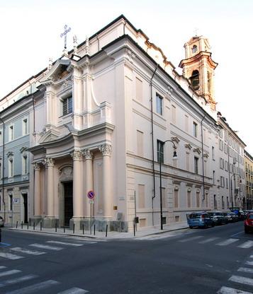Facciata della Chiesa dopo i restauri del 2009