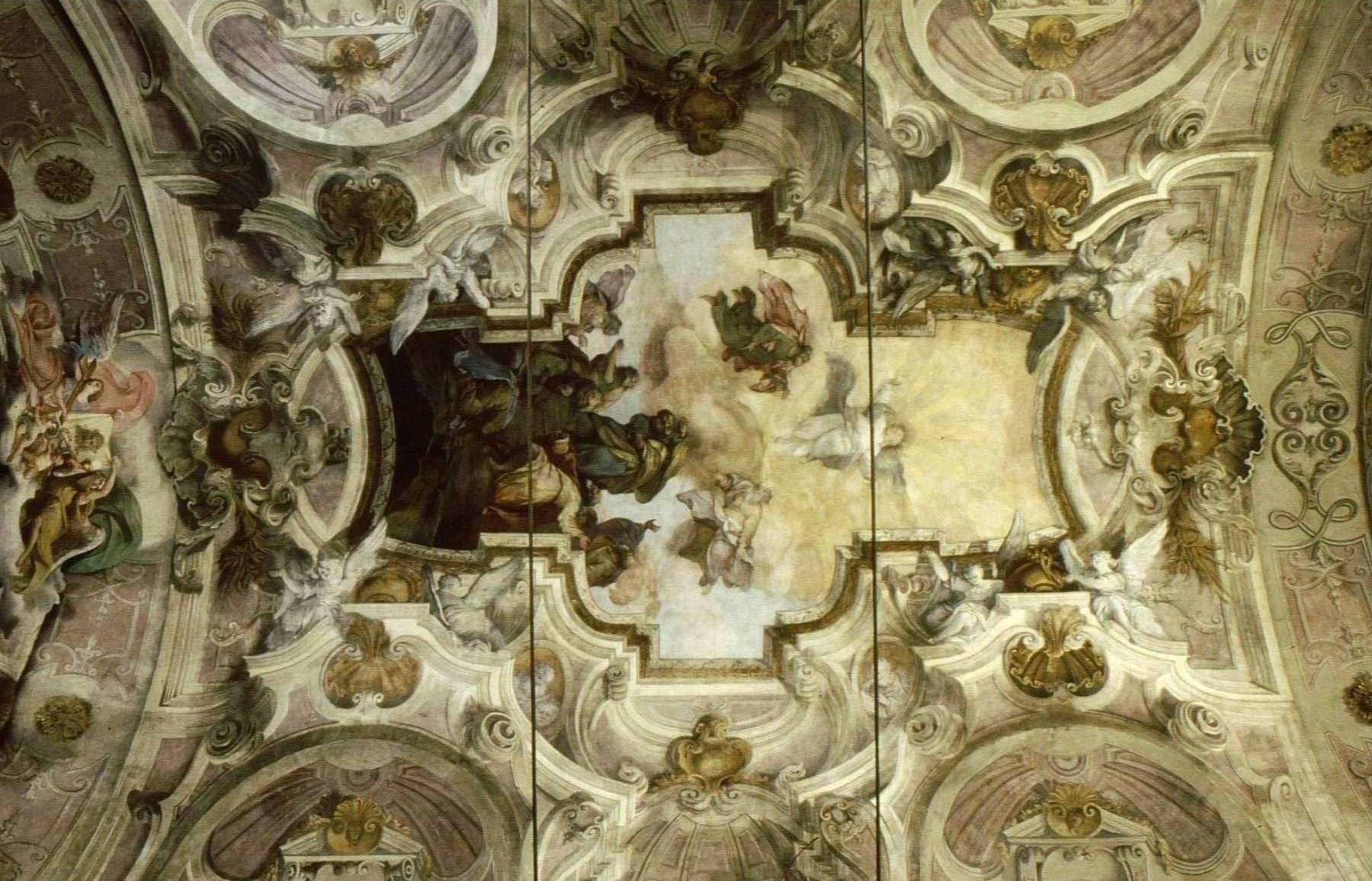 Affresco chiesa del SS. Sudario, Michele Antonio Milocco e Pietro Alzeri, 1735 ca.