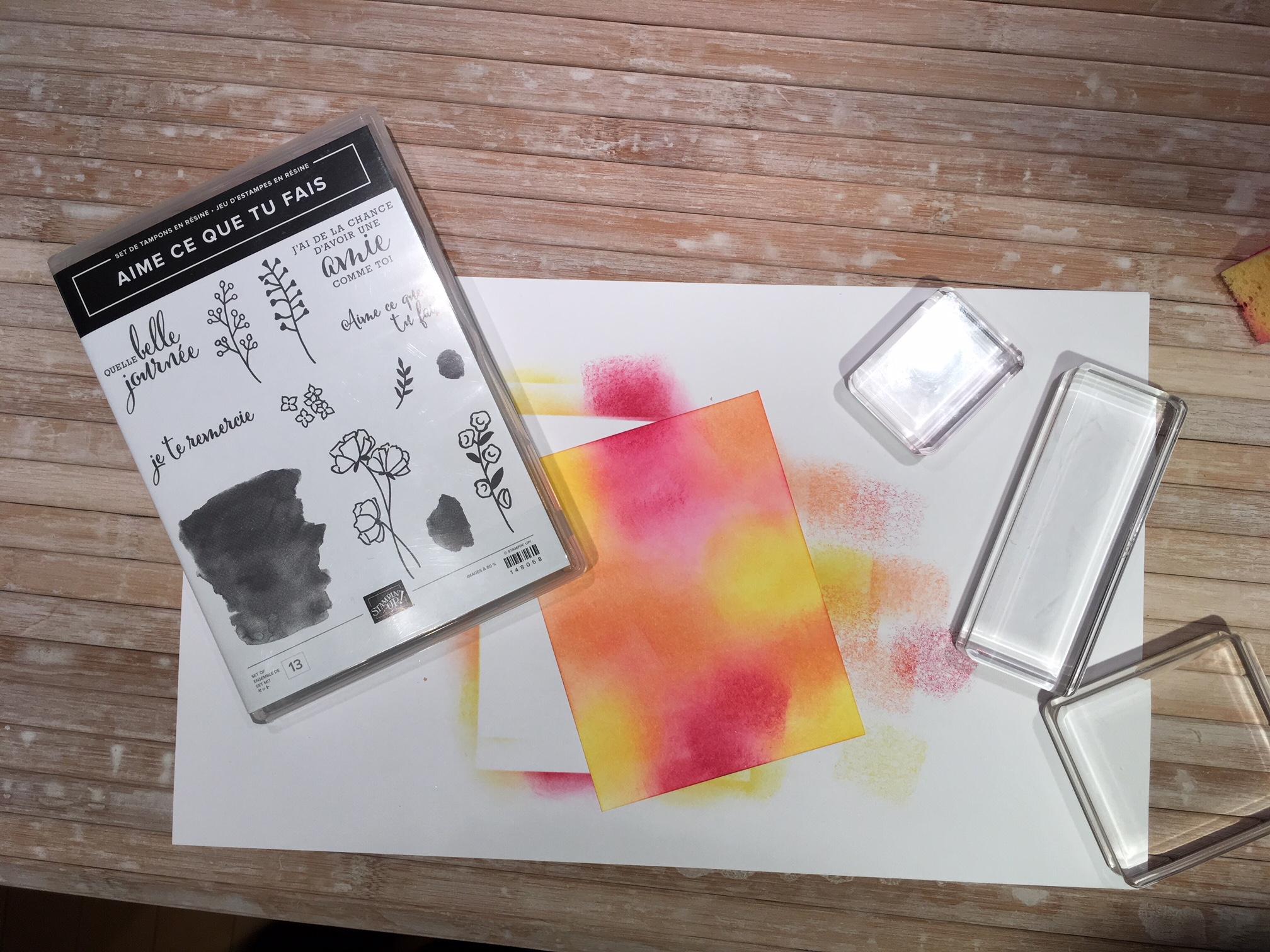 Choisir un jeu d'étampes avec des images «contours»