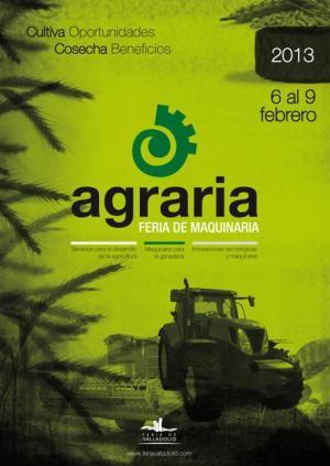 """""""AGRARIA 2013"""" FERIA DE MAQUINARIA. - Haz """"clic"""" en la imagen para ampliar."""