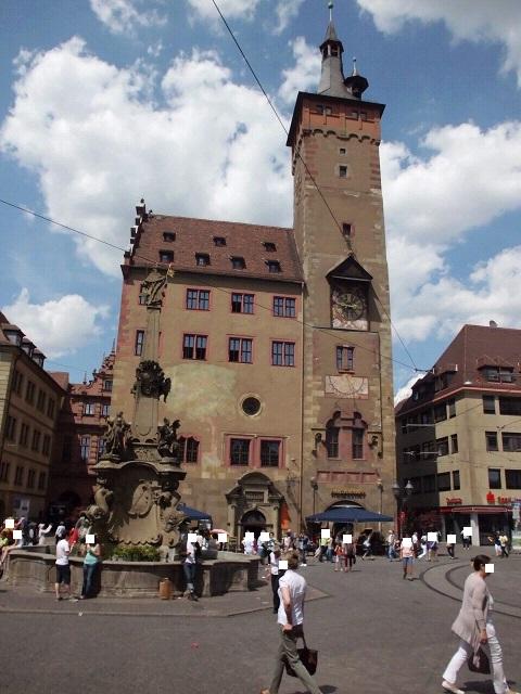 Rathaus Würzburg Stadtrallye