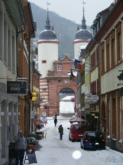 Stadtrallye Heidelberg Winter