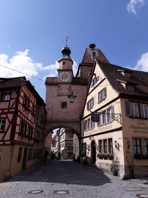 Stadtrallye, Stadttor Rothenburg o.d.T.