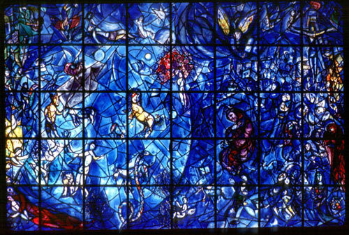 Vitrail des Nations Unis, New York - par Marc Chagall