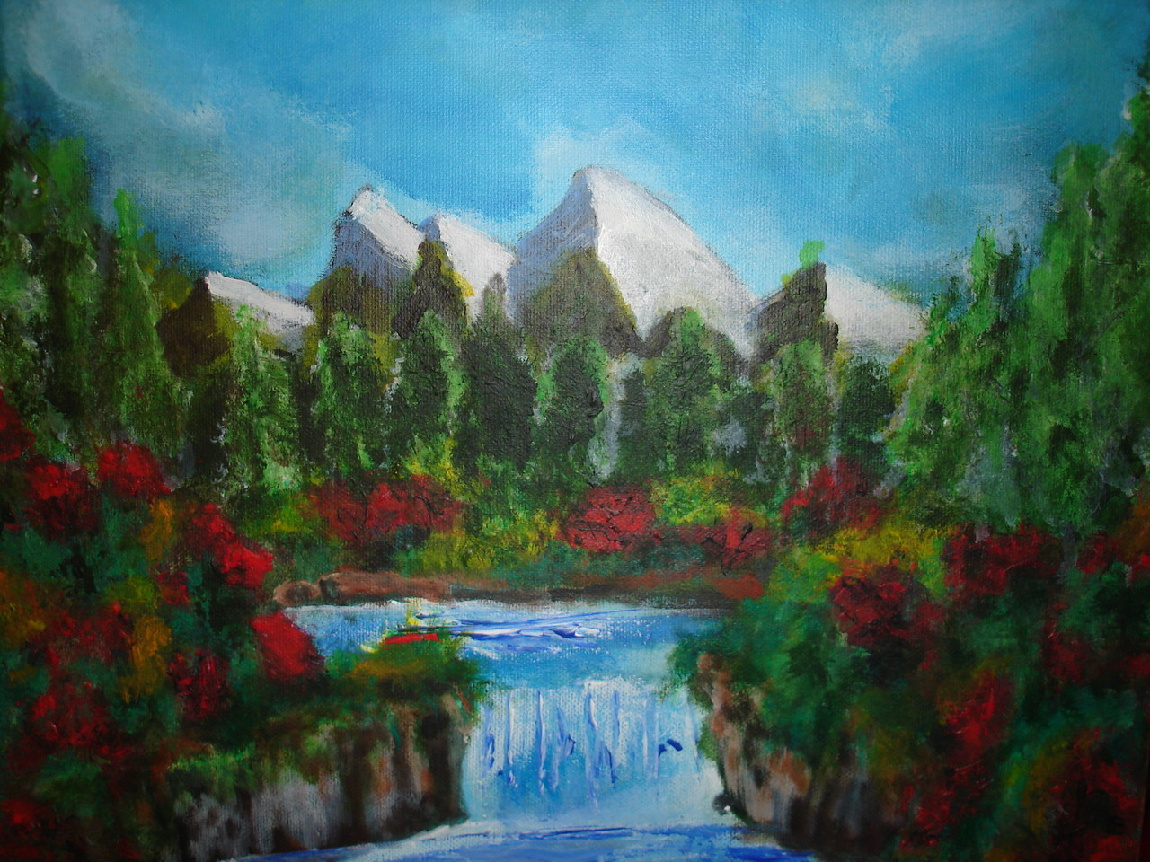 Montagne Acrylique (20x40)