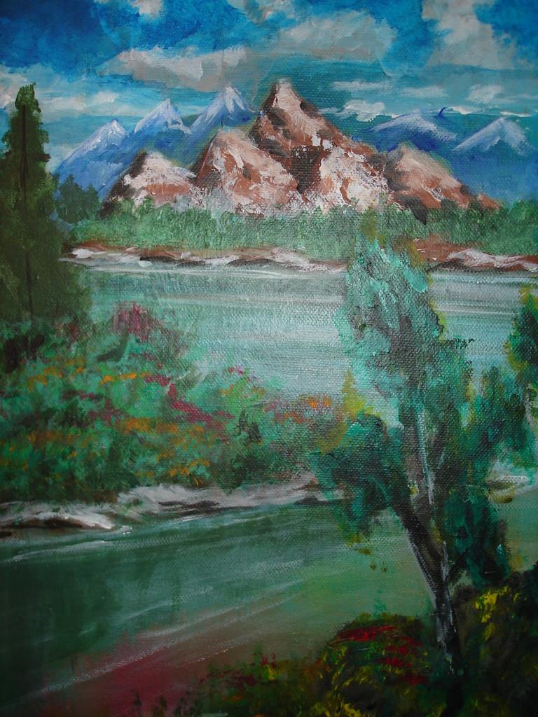 Montagne Acrylique (40x20)