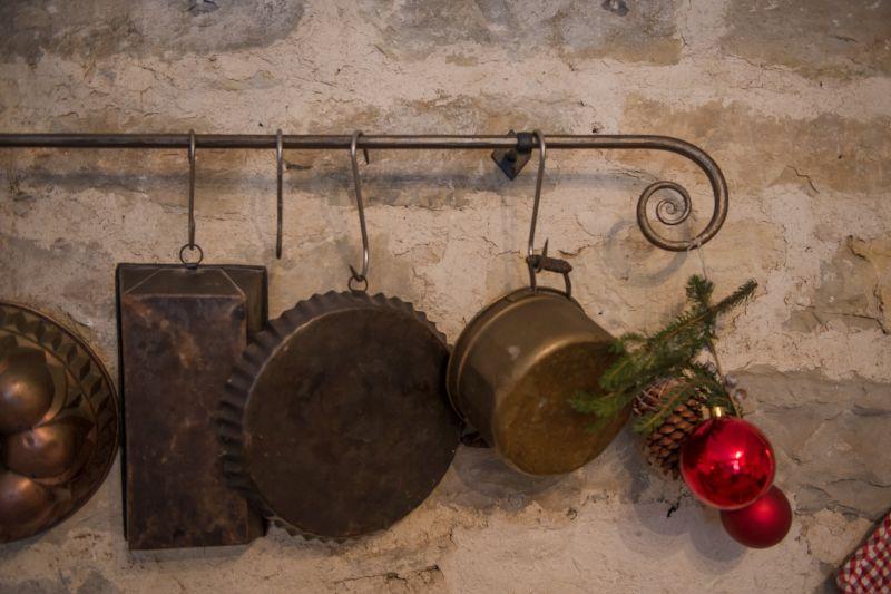Küchenutensilien in der Küche Fewo Hofgarten