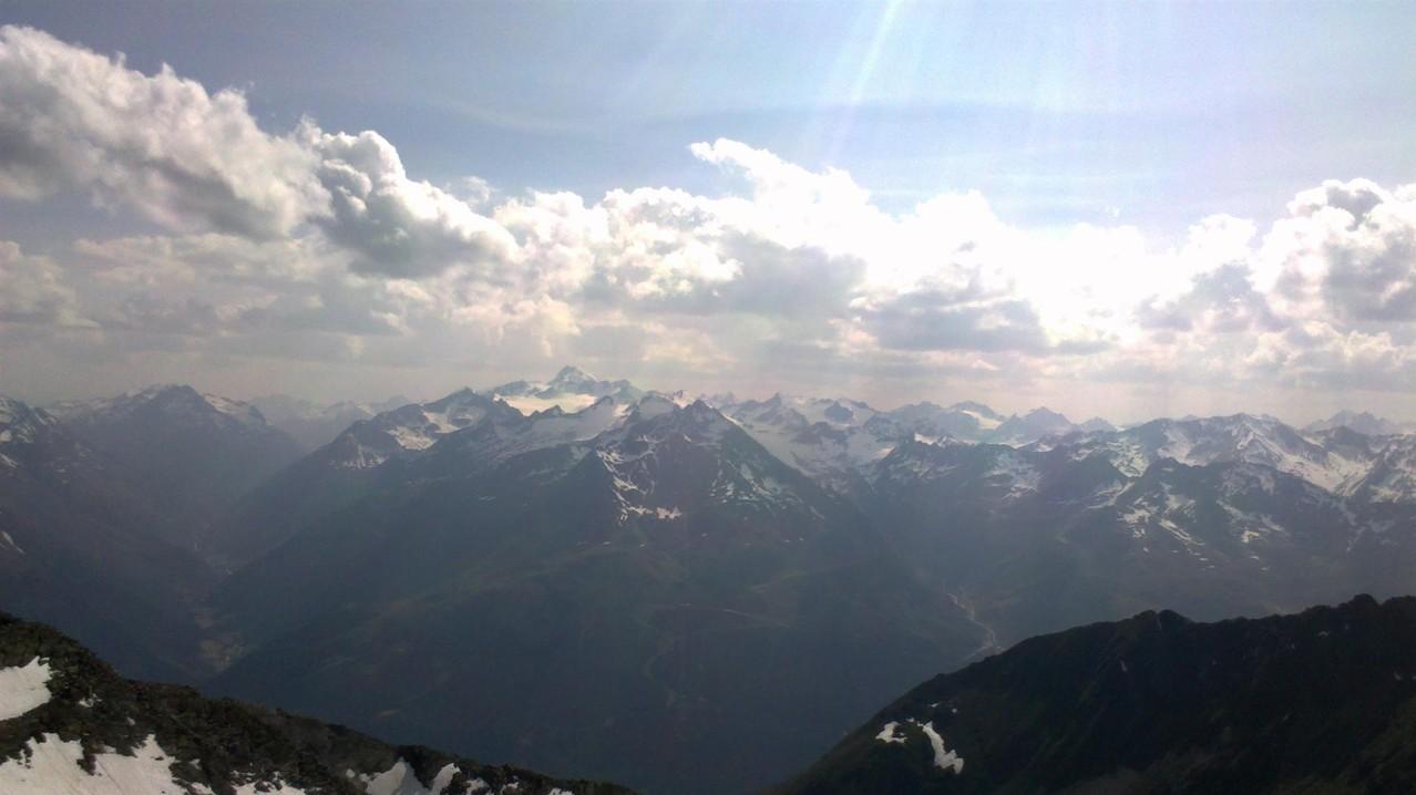 die Ötztaler Gipfel