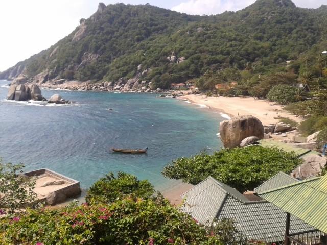 die Traumbucht Tarnote Bay - mehr gibt es dort nicht